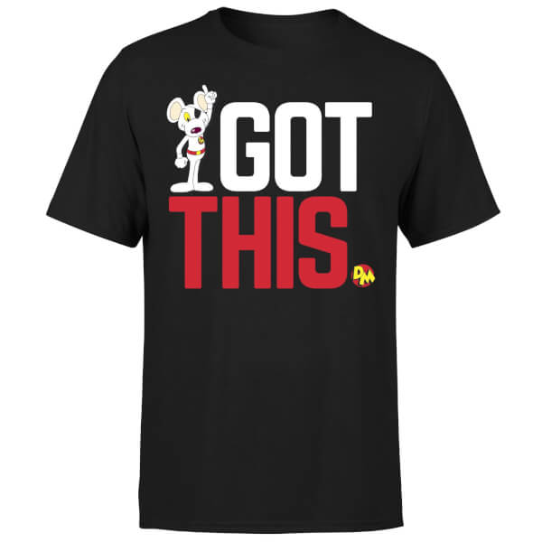 Danger Mouse Got This T-Shirt - Black
