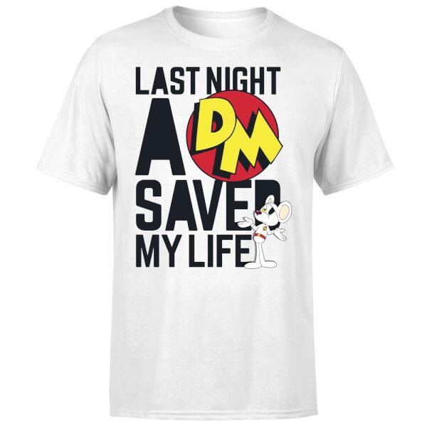 Danger Mouse DJ T-Shirt - White