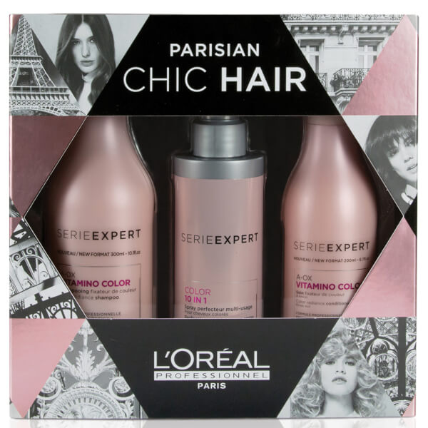 L'Oreal Professionnel Serie Expert Vitamino Color A-OX Gift Set (Worth $89.00)
