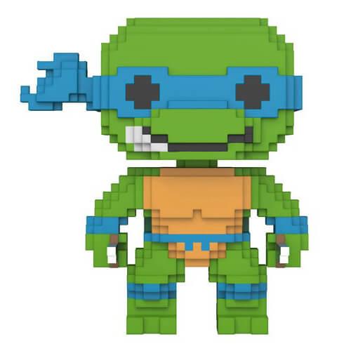 8 Bit Teenage Mutant Ninja Turtles Leonardo Pop! Vinyl Figure