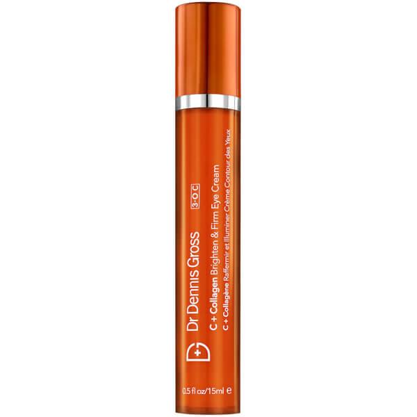 Dr Dennis Gross Skincare C + Collagen Brighten and Firm Eye Cream 15ml