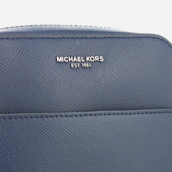 813631d743ac72 Michael Kors Men's Harrison Flight Bag - Navy: Image 4