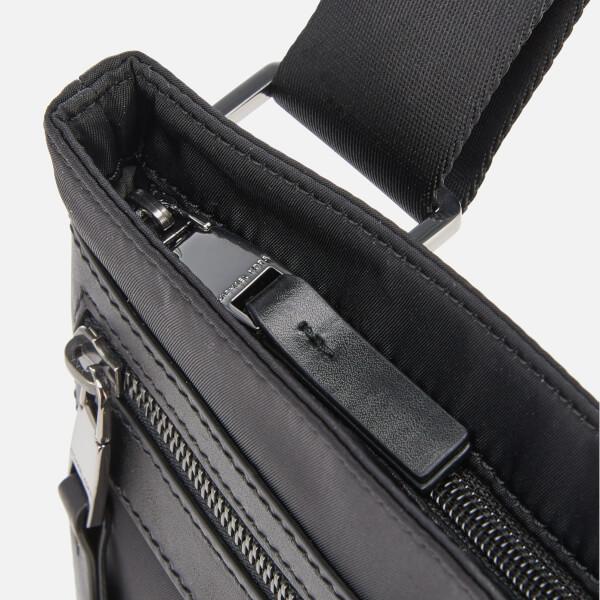 f796db4b35 Michael Kors Men s Kent Flat Cross Body Bag - Black  Image 5