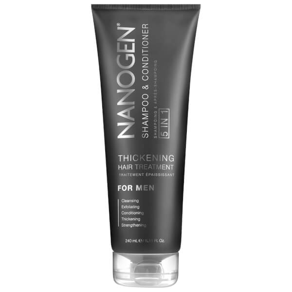 Nanogen 5 in 1 Exfoliating Shampoo and Conditioner for Men