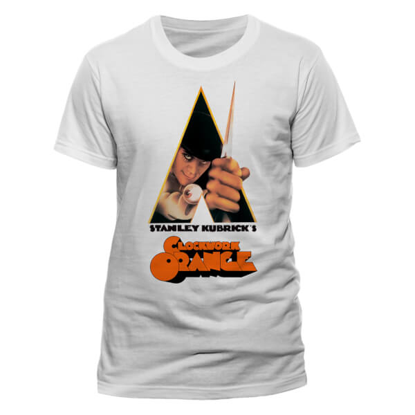 A Clockwork Orange Men's Knife T-Shirt - White