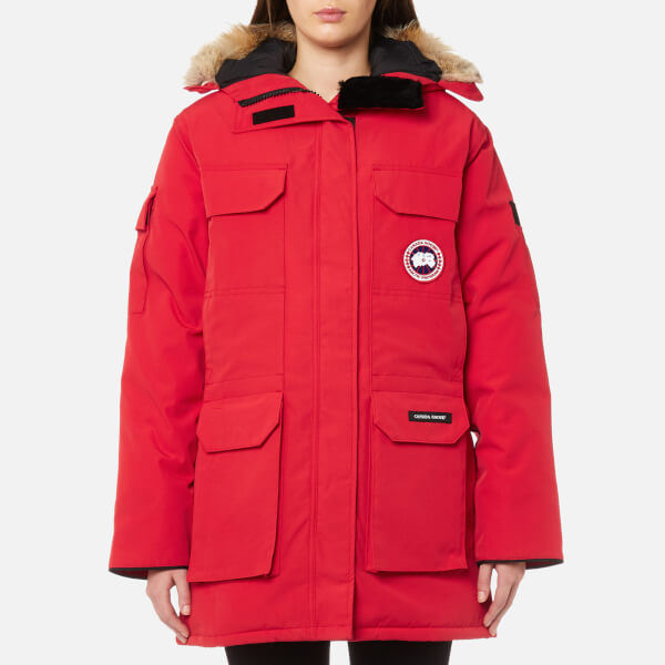 Canada Goose Women s Expedition Parka Jacket - Red - Free UK ... dd114a8d3