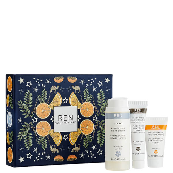 REN Silent Night, Wake Wonderful Gift Set (Worth $95)