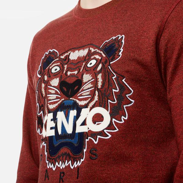 c60ee2aa kenzo tiger jumper red