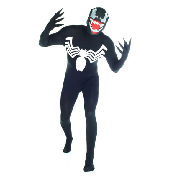 Morphsuit Adults' Marvel Venom - Black