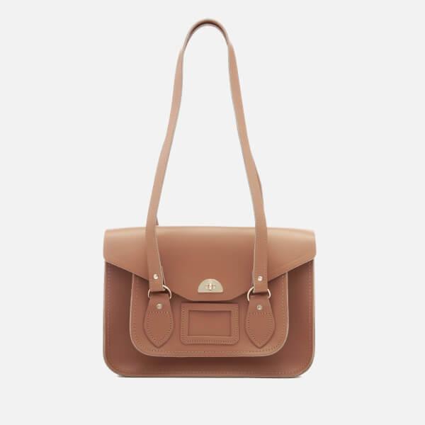 The Cambridge Satchel Company Women's Large Twist Lock Shoulder Bag - Biscuit