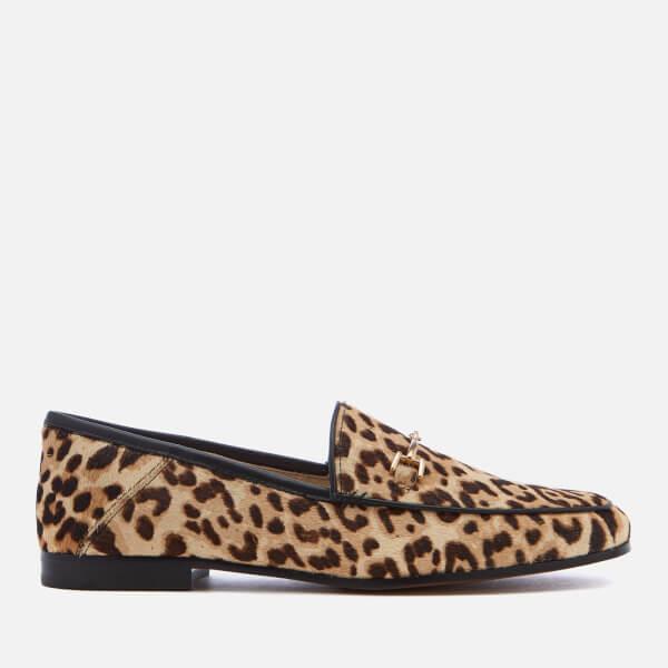 Sam Edelman Women's Loraine Suede Loafers - Leopard