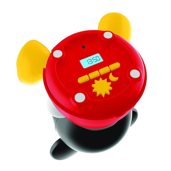 Philips disney sleep time mickey children 39 s night light and wake up light black red iwoot - Timer night light for toddlers ...