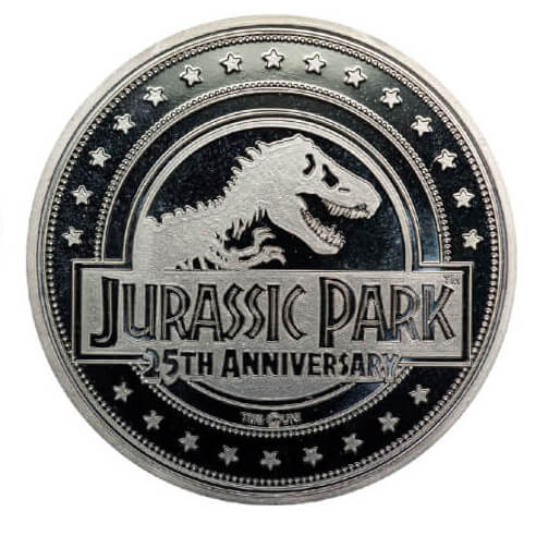 Limited Edition Jurassic Park Coin - Silver Edition