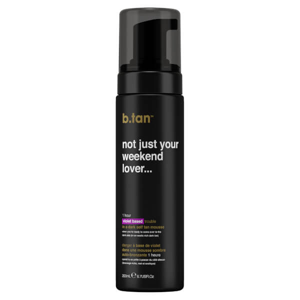 B.Tan Not Just Your Weekend Lover Self Tan Mousse 200ml
