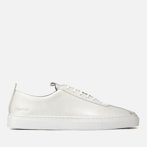 Grenson Men's Sneaker 1 Leather Cupsole Trainers - White