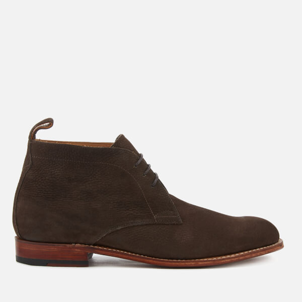 Grenson Men's Marcus Nubuck Desert Boots - Dark Brown