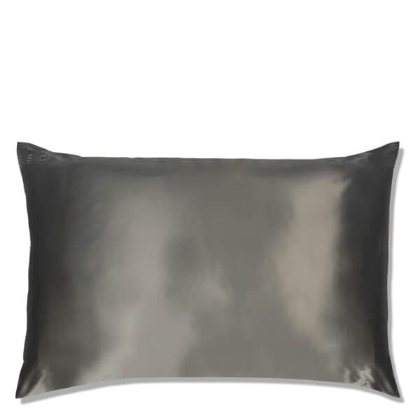 Slip Silk Pillowcase - Queen - Charcoal