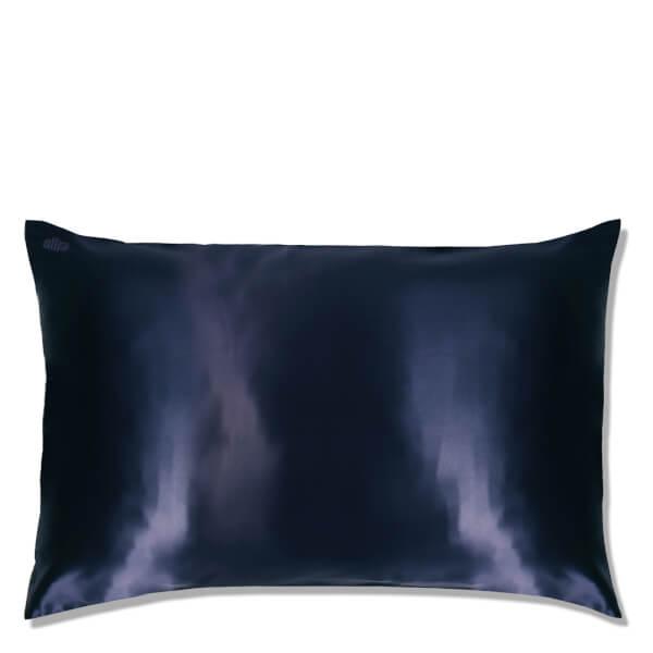 Slip Silk Pillowcase Queen Navy Skinstore