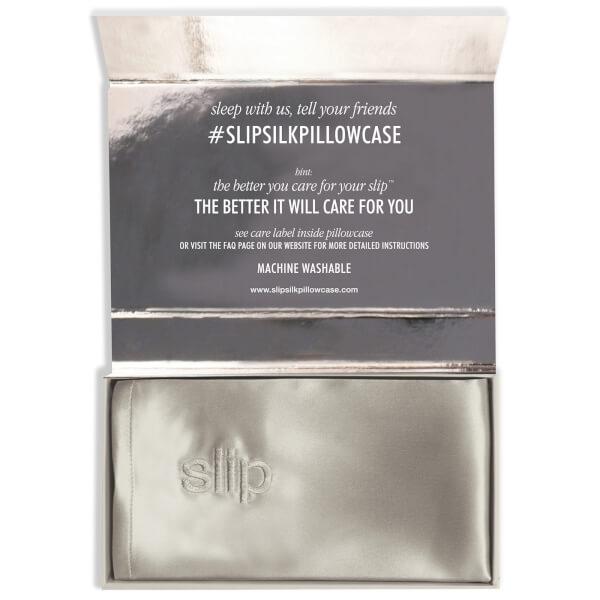Slip Silk Pillowcase Review Best Slip Silk Pillowcase King Silver SkinStore