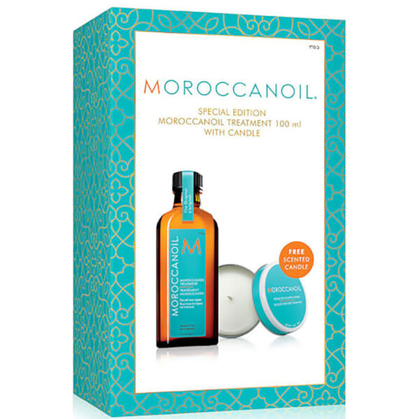 Moroccanoil Treatment 100ml with FREE Candle (Worth £42.85)