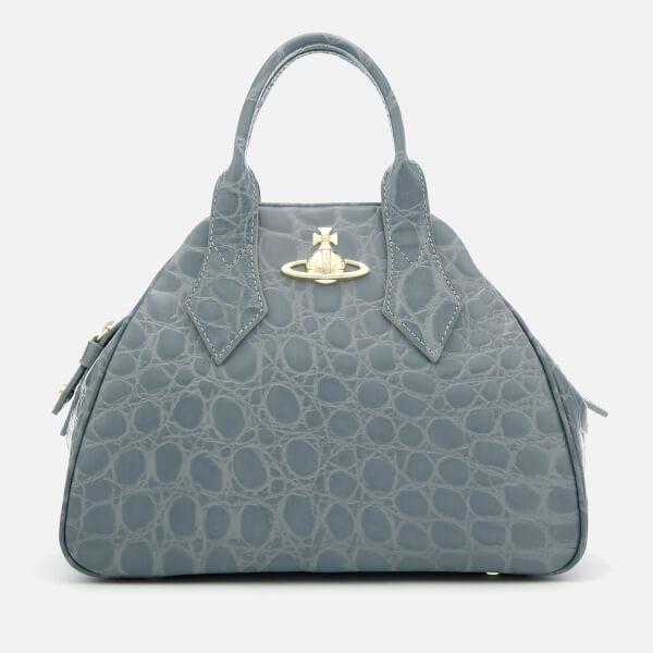 Vivienne Westwood Women's Medium Yasmine Tote Bag - Light Blue