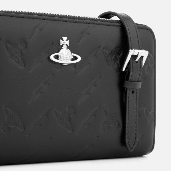 bb0b335d34 Vivienne Westwood Women's Canterbury New Cross Body Bag - Black: Image 4