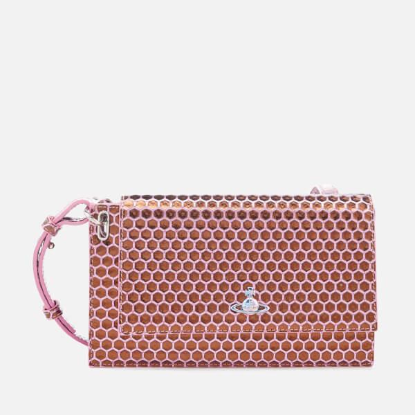 Vivienne Westwood Women's Venice Clutch Bag - Pink
