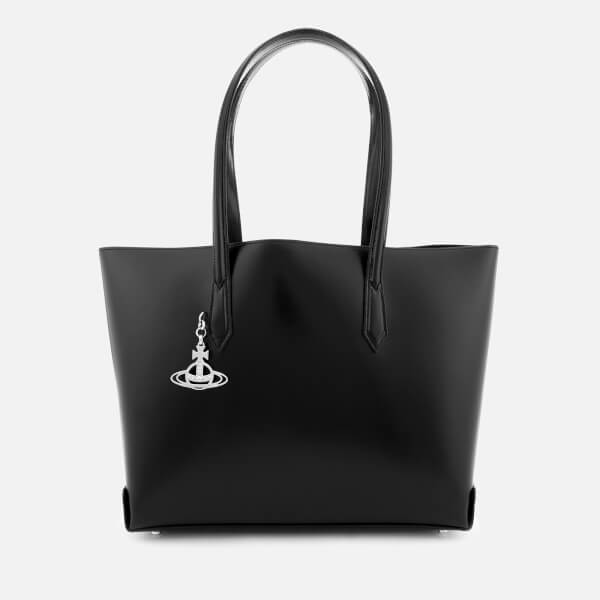 Vivienne Westwood Women's Lager Shopper Tote Bag - Black