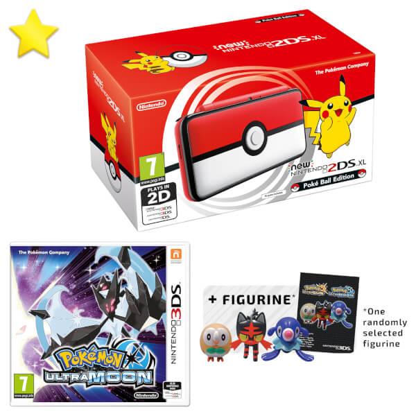 New Nintendo 2DS XL Poké Ball Edition + Pokémon Ultra Moon Pack