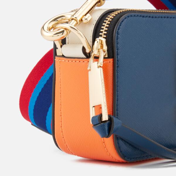 ad1e7c7d1326 Marc Jacobs Women s Snapshot Cross Body Bag - Blue Sea Multi  Image 4