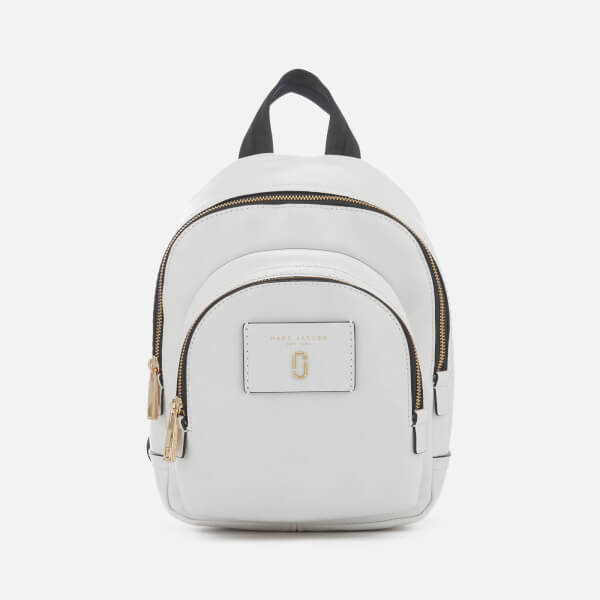Cheap Real Eastbay Outlet Discount Sale Mini Double Pack Bacpack in White Glow Cow Leather Marc Jacobs efWHL