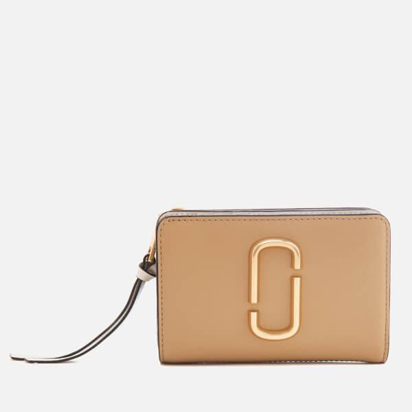 Marc Jacobs Women's Compact Wallet - Sandcastle/Multi