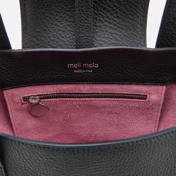meli melo Women s Rose Thela Medium Tote Bag - Black  Image 5 b6e7fb8f7a56b