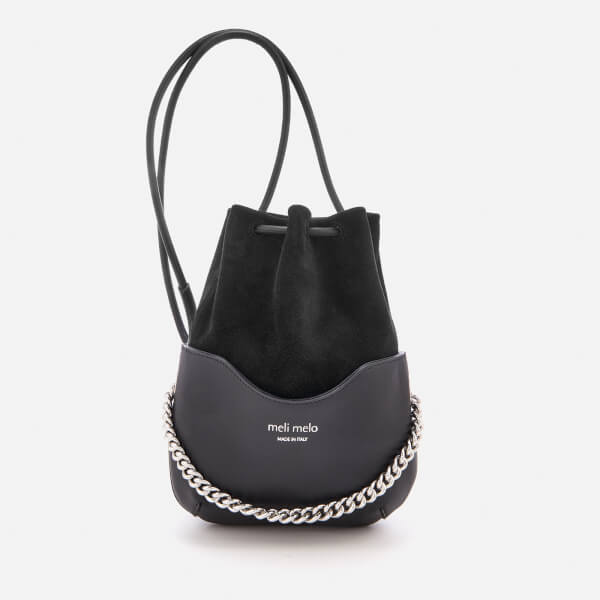 meli melo Women's Hetty Chain Handle Bag - Black