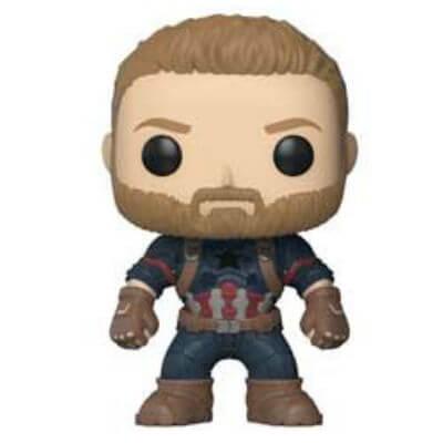 Marvel Avengers Infinity War Captain America Pop! Vinyl Figure