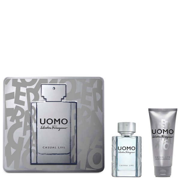 Salvatore Ferragamo Uomo Casual Life X17 EDT Set 50ml