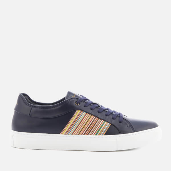 Paul Smith Men's Ivo Leather Cupsole Trainers - Dark Navy