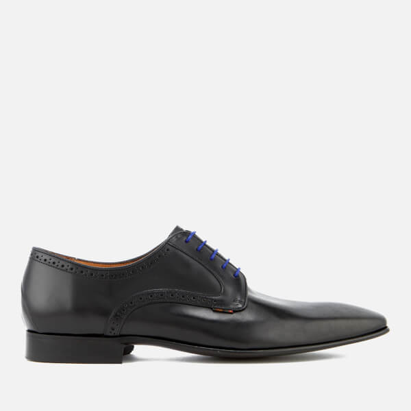 PS by Paul Smith Men's Roth Leather Derby Shoes - Black