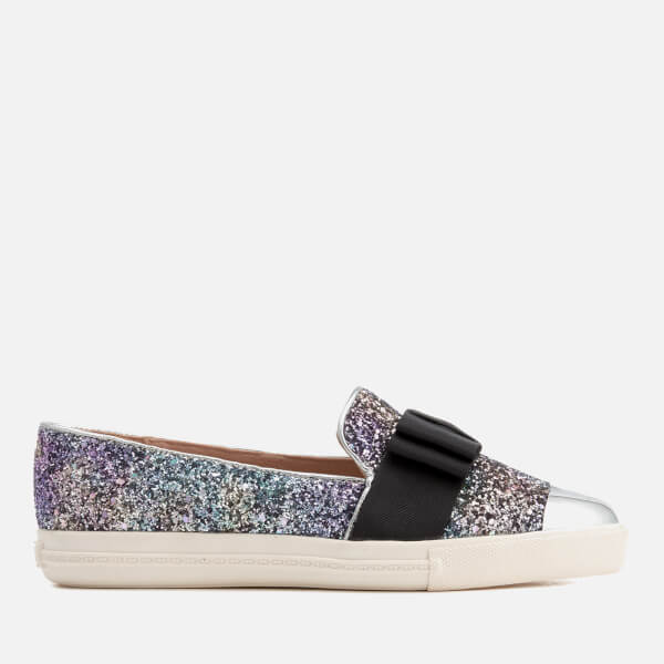 Miss KG Women's Lisa Glitter Slip-On Pumps - Multi