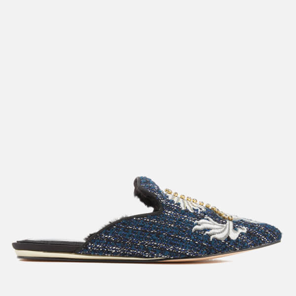 Kurt Geiger London Women's Ollie Pointed Flats - Navy