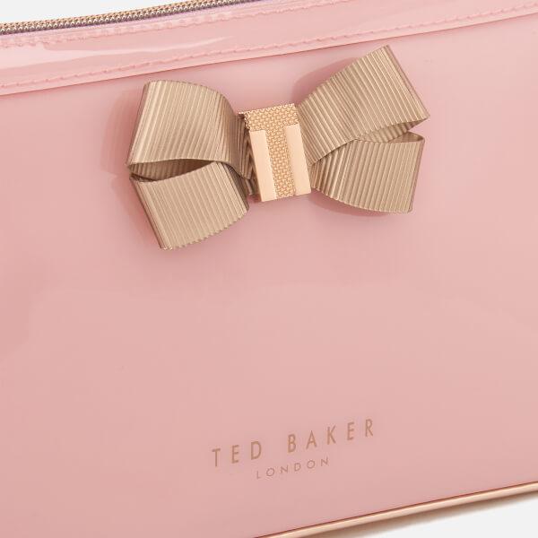 e5bbce7f04 Ted Baker Women's Libbert Bow Washbag - Pale Pink: Image 3