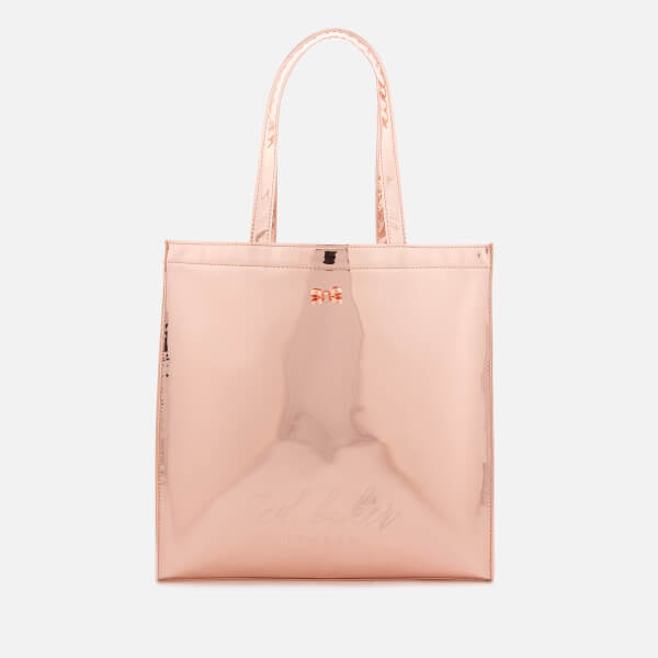 46d1522ba80a2b Ted Baker Women s Jencon Mirrored Large Icon Bag - Rose Gold  Image 1