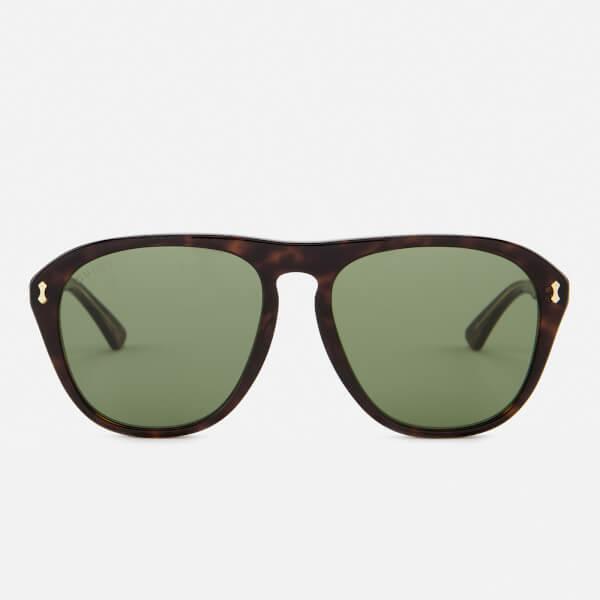 Havana Tortoiseshell Aviator Sunglasses Gucci Ank8Rw