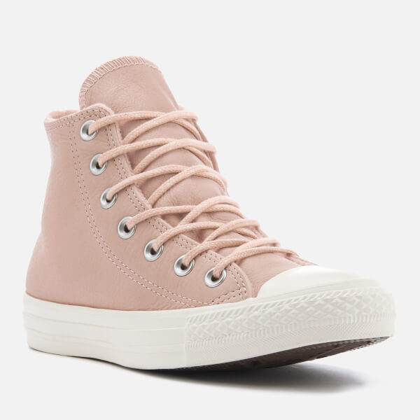 Converse Women s Chuck Taylor All Star Hi-Top Trainers - Dusk Pink Dusk Pink 1913328fadf