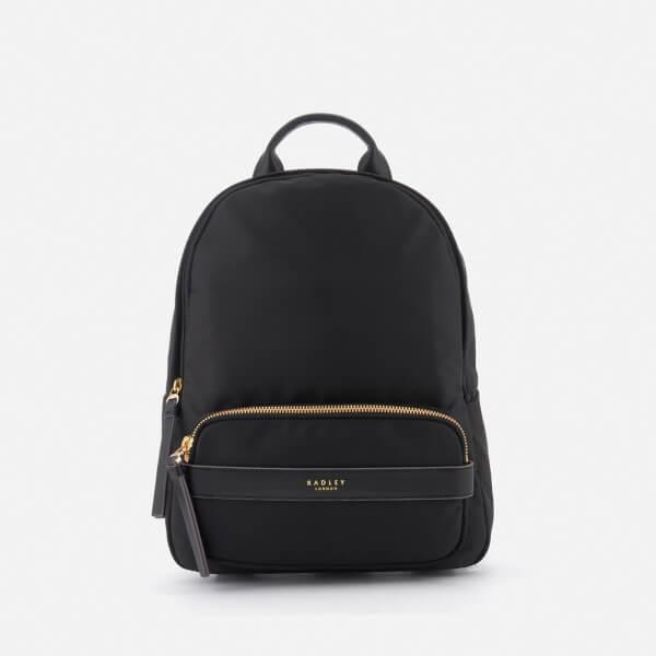 Radley Women's Harley Medium Ziptop Backpack - Black
