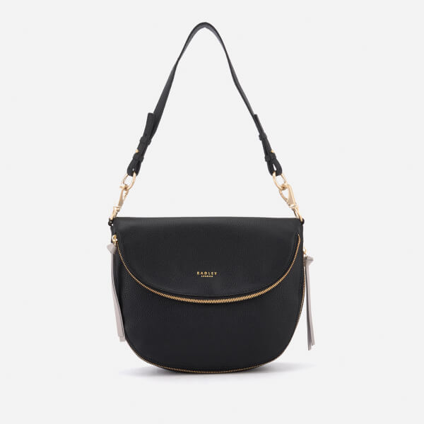 Radley Women's Pudding Lane Medium Flapover Shoulder Bag - Black