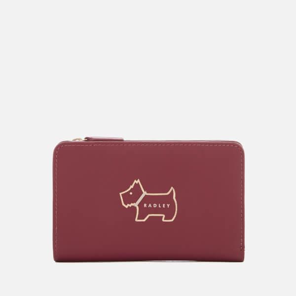 Radley Women's Heritage Dog Outline Medium Ziptop Purse - Berry