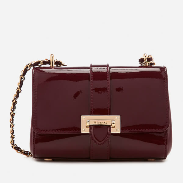 Aspinal of London Women's Lottie Micro Bag - Cherry