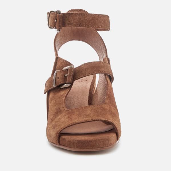 The Cheapest Hudson London Women's Rona Suede Heeled Sandals - Tan - UK 3 - Tan Cheapest 2018 Sale Online Discount 2018 Cheap Explore F1N6uFS