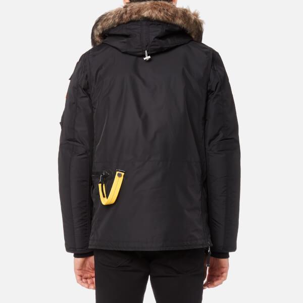 Parajumpers Men's Right Hand Man Faux Fur Jacket - Black: Image 2